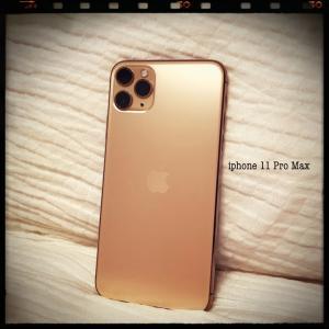新しい相棒・・・iPhone11 Pro Max