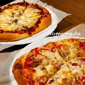 手作りピザ2種類