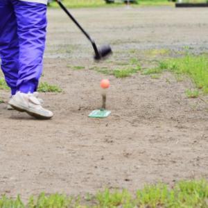 グランドゴルフの打ち方を考える・・④