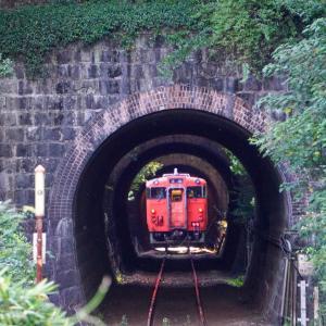 芸備線 三連トンネル