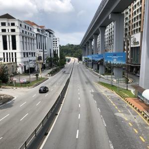 【画像あり】ロックダウン中のマレーシアの様子をご覧ください【からっぽの街】