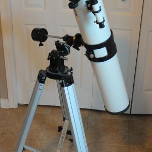 天体望遠鏡を差し上げま~す!
