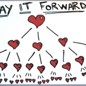 瞑想 #2   pay it forward