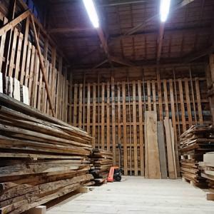 倉庫の改修