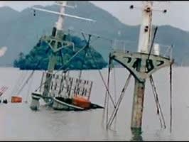 終戦翌年の京都・舞鶴軍港、沈んだ艦船朝鮮人犠牲の「浮島丸」も