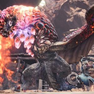 【爆鱗】「紅蓮滾るバゼルギウス」が登場するイベントクエスト「燻火堆然」