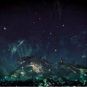 【確定】謎の龍はゼノ・ジーヴァの成体だった模様