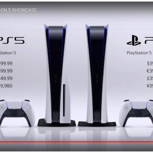 【待望】PS5の価格と詳細な性能そして発売日が発表されました!【PS4モンハンワールドも】