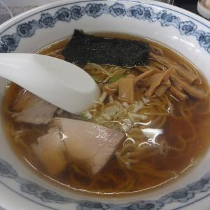 田名部食堂でアッサリラーメン 食って来た
