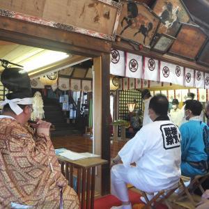 2021年 八戸三社大祭 オガミ神社中日例祭 さ行ったよ
