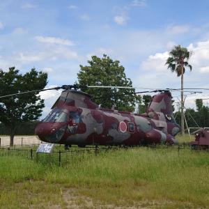島原半島の自衛隊保存機V-107A