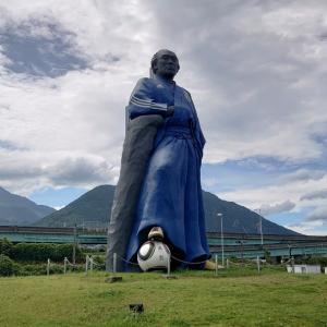 長崎県の坂本龍馬像