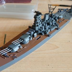 戦艦武蔵のプラモデル