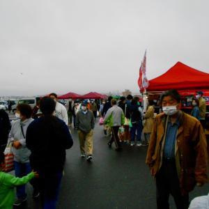 八戸漁港館花岸壁朝市