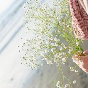 かすみ草の花言葉は夢だね…
