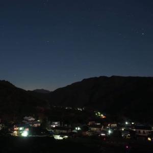 夜景を撮る