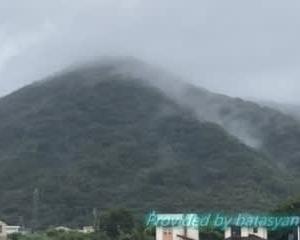 台風14号上陸中の和歌山は…