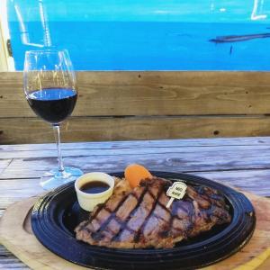【北谷】seaside STAKE BEEFY'S(ステーキビーフィーズ)でディナー♡