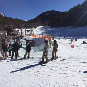 シーズン1日目 治部坂高原スキー場
