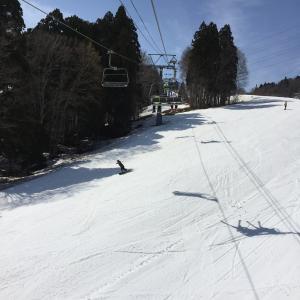 シーズン8日目 かぐら田代みつまたスキー場