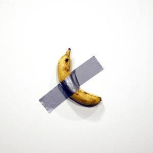 【悲報】1300万円のバナナ、食われる