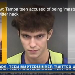 【画像】Twitterで有名人アカウントを次々と乗っ取った17歳ハッカーの顔がこちらwww