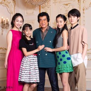 【朗報】藤岡弘、さんの子供達、くっそ美形揃いだったww