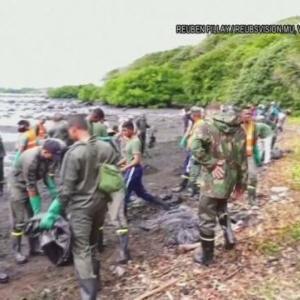 日本の重油1000t垂れ流し緊急事態なのに日本は知らんふり