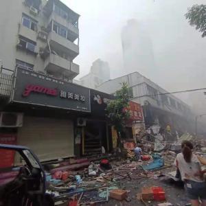 中国、市場が大爆発 12人が死亡 想像の10倍めちゃくちゃになってる