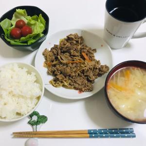 7/9(木)の晩ごはん/コロナまた増えてきたな〜