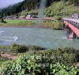 岐阜県内河川増水のため鮎釣りは厳しい・・・