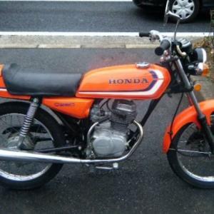 思い出のバイク③ CB50JX
