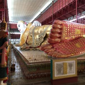 ミャンマー・ヤンゴン滞在2日目 寺院巡りとモン族の民族料理