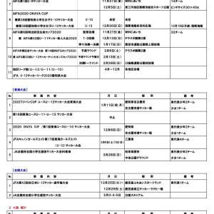 2020年度 愛知県4種サッカー事業計画