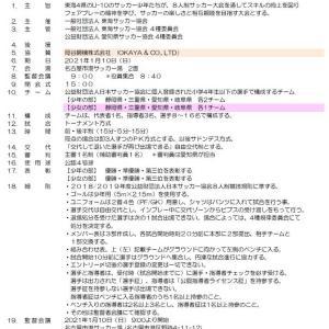 2020年度 OKAYA CUP 東海ユースU-10サッカー東海大会【日程・要項】