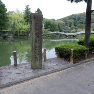 ウォーキングコース 薬師池公園周辺