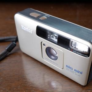 銀塩カメラ コンパクトカメラの開拓者 コニカ BiG mini
