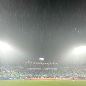 7/8 阪神戦● 雨に負ける!?