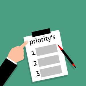 繁忙期における弁理士業務の優先順位の付け方