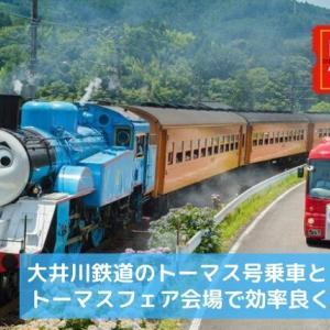 大井川鐡道のトーマス号乗車とトーマスフェア会場で効率良く楽しむ方法