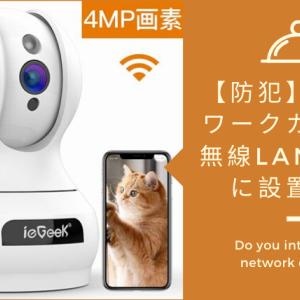 【防犯】ネットワークカメラを無線LANで簡単に設置する