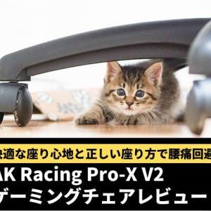 AK Racing Pro-X V2 ゲーミングチェアレビュー