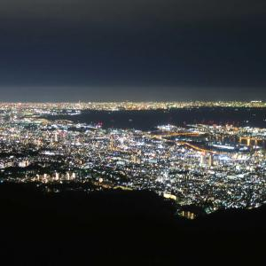 六甲にお散歩④~摩耶の夜景