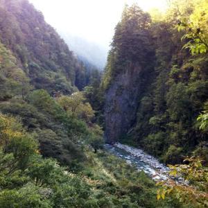 日本一深いV字谷~黒部峡谷