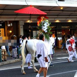 四条の御旅所へ~祇園前祭