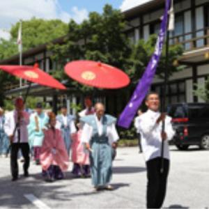 綾戸國中神社~祇園祭り