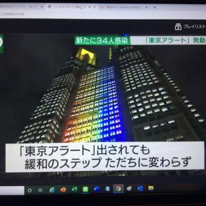 東京アラート下で、どう判断するか。