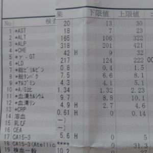 2021年02月12日 血液検査結果
