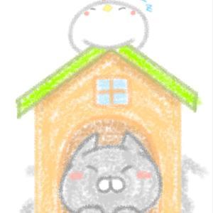 猫の家の寝心地が気になる(※落書き注意)