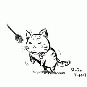 うちの猫さん(2) ※落書き注意。